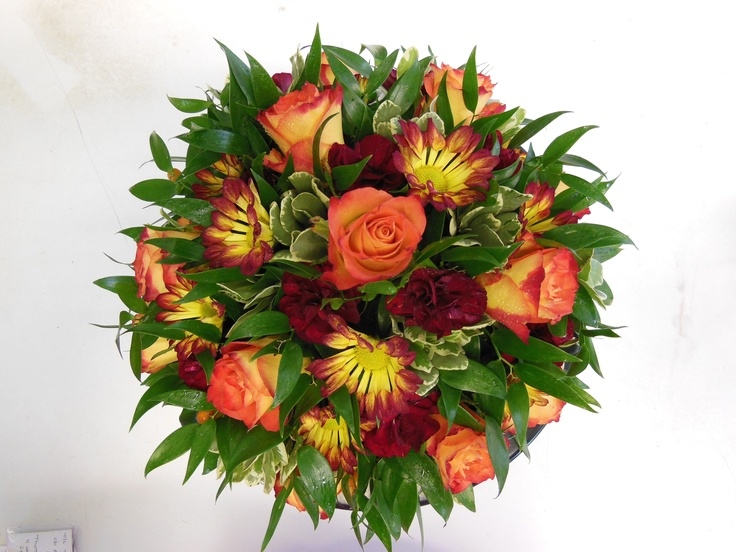 Loose posy, table decoration or funeral tribute