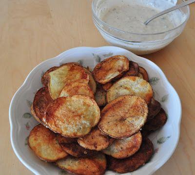 Cactus Cut Potatoes Recipe + Dip Recipe