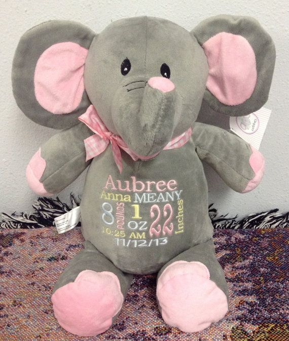 142 best baby embroidery designs images on pinterest baby monogrammed baby gift personalized baby gift embroidered elephant baby blanket personalized by world class embroidery negle Choice Image