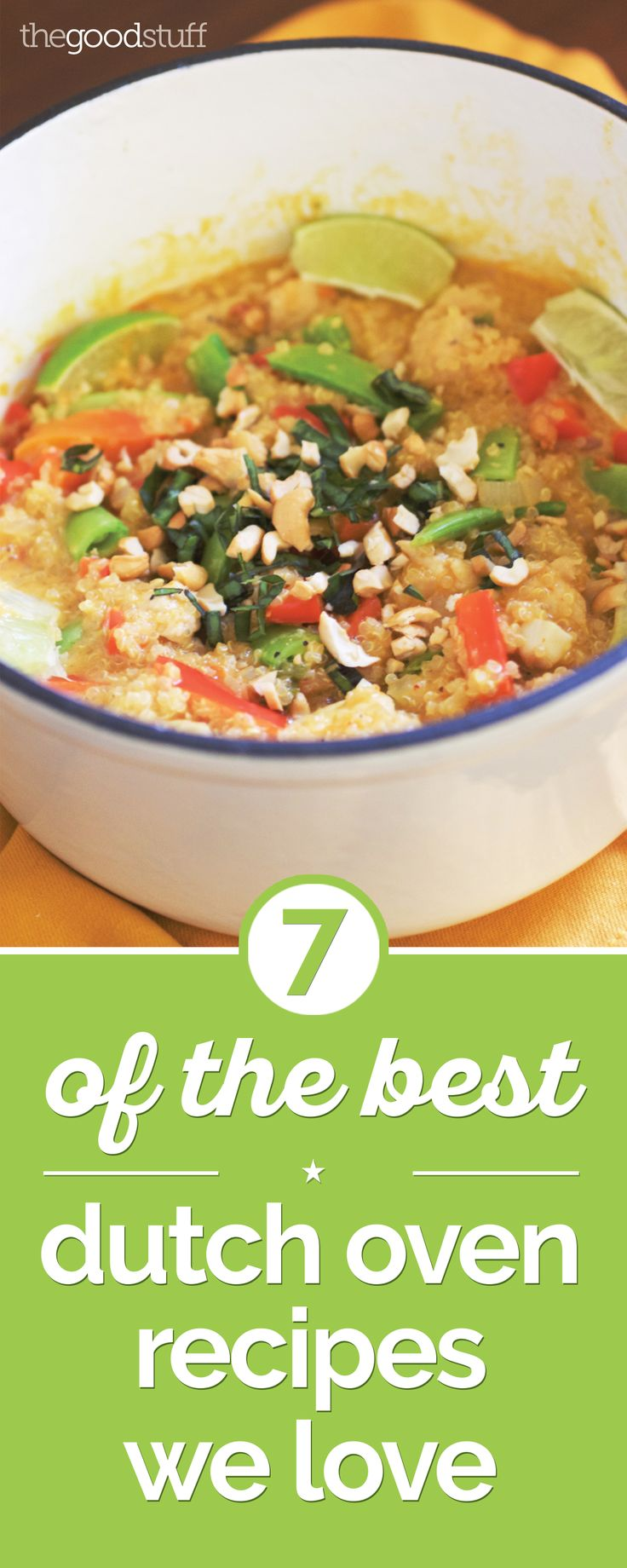 I love one-pot Dutch oven meals. They're easy to make and leave you with only one pot to clean at the end.