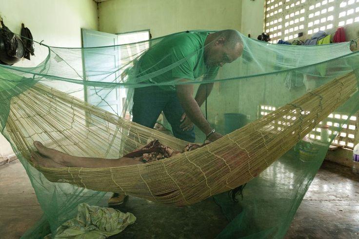 """PAHO WHO   Exposição de fotos Programa Mais Médicos  """"Fui o primeiro médico a fazer atendimento aos indígenas da etnia Korubo, em meio à floresta. Isso foi inesquecível. É um trabalho que sempre sonhei."""" —Trabalha desde 2013 em Atalaia do Norte, Amazonas, Brasil. (Foto: Alejandro Zambrana)"""