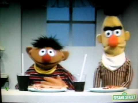 Sesame Street-Bert & Ernie Show MORE & LESS.AVI - YouTube