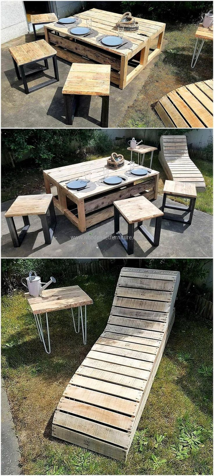 Follow These Amazing Wood Pallets Recycling Ideas