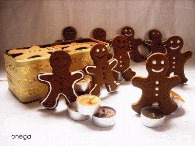 Galletas de jengibre como en Shrek: Gingerbread men cookies