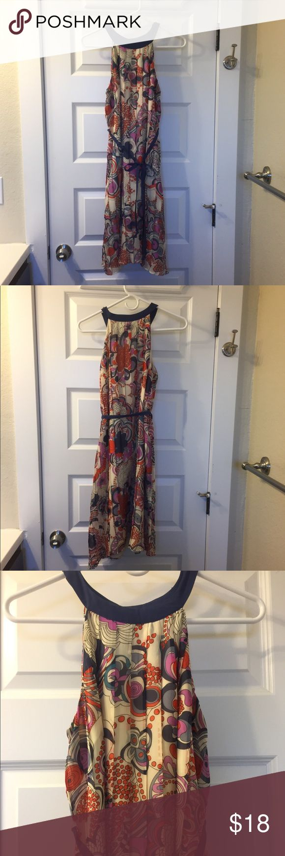 Liberty of London for Target mod pleated dress Cute and breezy mod florals on pleated chiffon make this Liberty of London for Target dress so cute for spring. Swing shape with optional included belt to define waist, or leave off for a swingy mod style. Size S. liberty of london Dresses Mini
