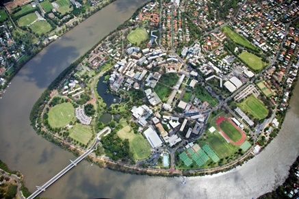 University of Queensland - St Lucia Campus. The entire campus was surrounded by the river - it was a great experience to spend a semester there!