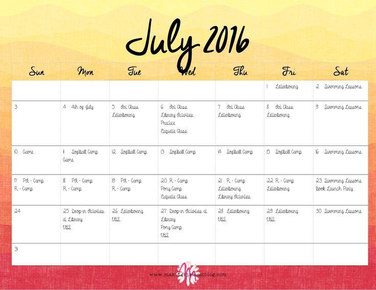 Best 25+ Summer calendar ideas on Pinterest Free summer kids - steps for creating a grant calendar