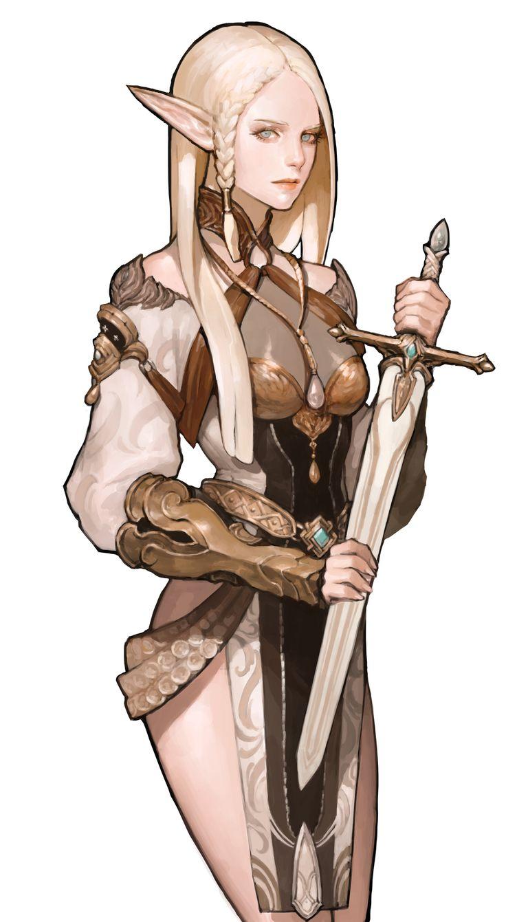 ArtStation - mabinogi duel , NESSI +