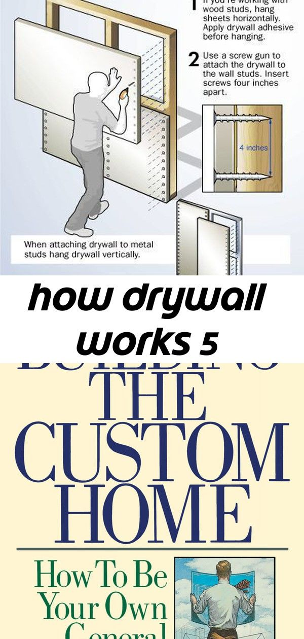 How Drywall Works 5 Home Improvement Tv Show Hanging Drywall Custom Homes