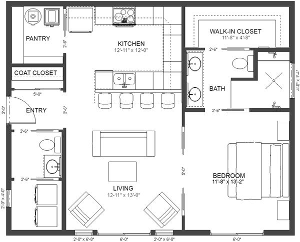 Plan No.580832 House Plans by WestHomePlanners.com