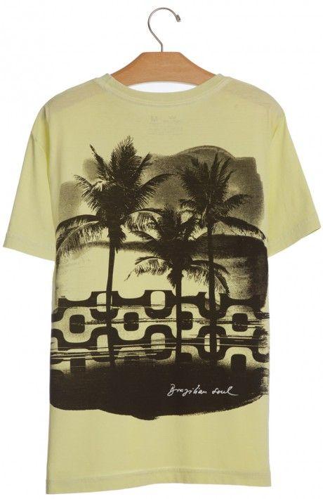 Osklen - T-SHIRT STONE OLD VECTOR MC - t-shirts - men