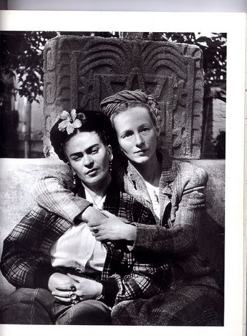 Frida Kahlo and Gertrude Blom
