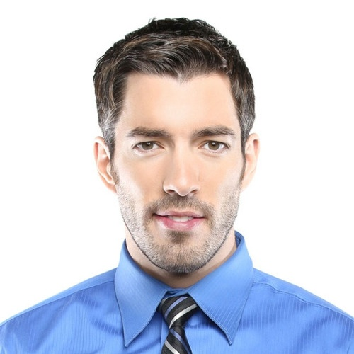 Drew Scott - our handsome realtor. @Rachel Ham, I think I might have to stretch the search for an apartment for just a bit so we could spend more time with him...