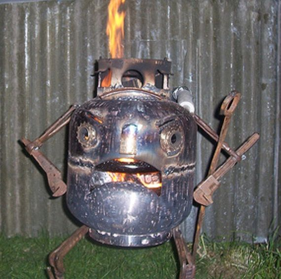 17 Best Images About Repurposed Propane Tank On Pinterest