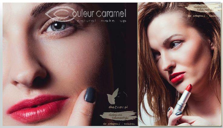 #makijaż #naturalny #CouleurCaramel #kosmetyki #kolorowe #modelka #ekozuzu #ekozuzupl #bezchemii #wizaż #trendy #zima2015 #pomadka  www.ekozuzu.pl