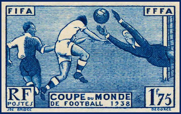 I uploaded new artwork to fineartamerica.com! - ' Fffa Fifa World Cup Soccer 1938 Stamp' - http://fineartamerica.com/featured/-fffa-fifa-world-cup-soccer-1938-stamp-lanjee-chee.html via @fineartamerica