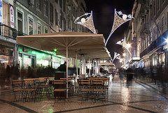 Joel Vieira - Lisbon street at night