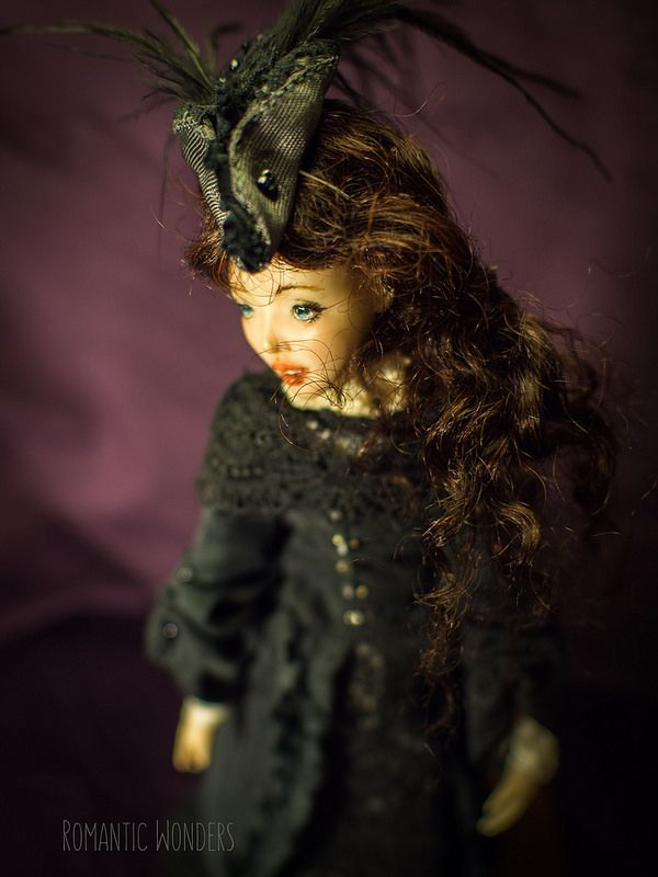 ''Lady'' handmade Ooak doll by Romantic Wonders