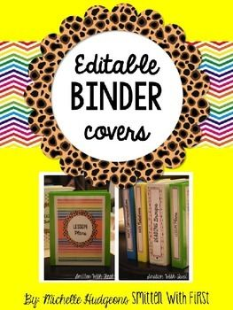 """This+freebie+includes+5+editable+binder+covers+and+editable+spine+covers+for+1"""",+1.5"""",+2"""",+2.5"""",+and+3""""+inch+binders!+  If+you+have+any+questions,+please+let+me+know.+  Blessings,+ Michelle+Hudgeons"""