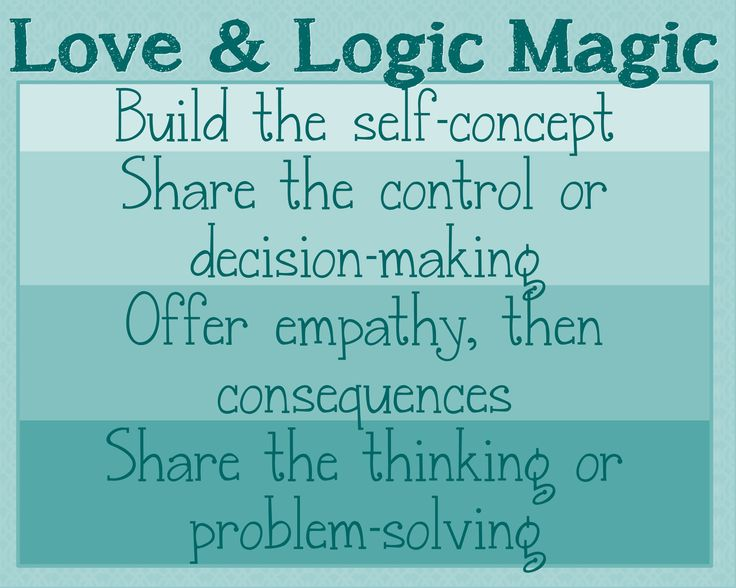 1000+ Images About Love & Logic On Pinterest