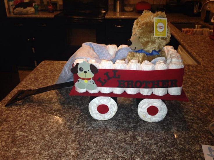 Radio Flyer Wagon Diaper Cake Design If You Like This