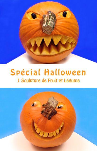 Spécial Halloween: la Citrouille en Colère et la Citrouille Souriante