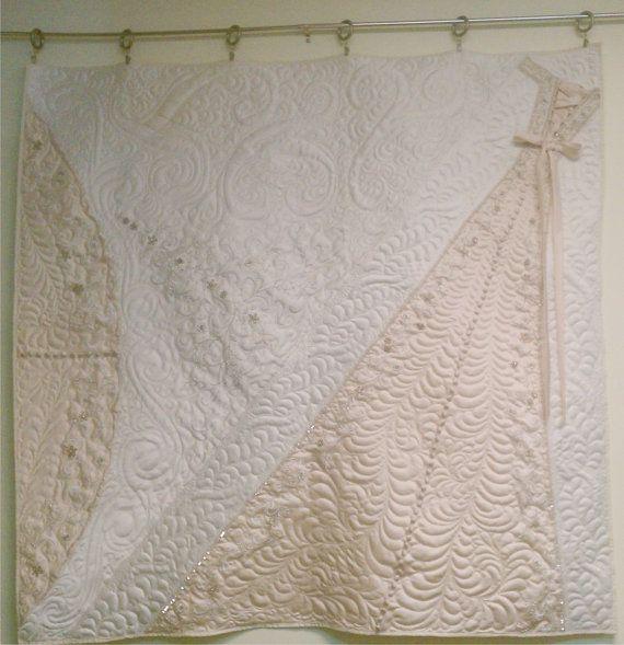 Best 25+ Wedding dress quilt ideas on Pinterest | DIY wedding ... : wedding dress quilts - Adamdwight.com