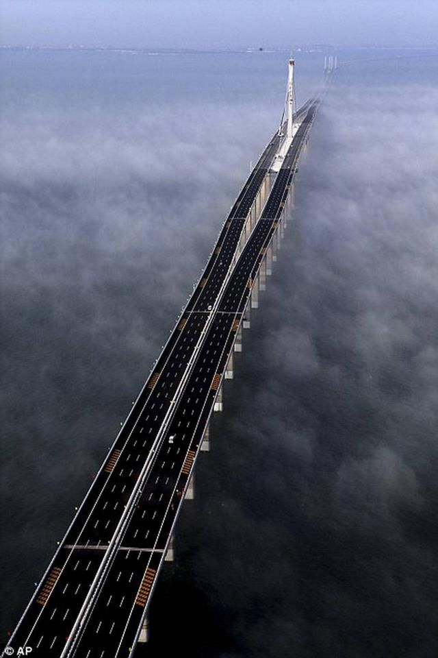 LONGEST BRIDGE IN THE WORLD: DANYANG KUNSHAN GRAND BRIDGE, CHINA. Get unique marketing ideas & expert help to increase your business in Social Media Platform, visit....... www.pinific.com