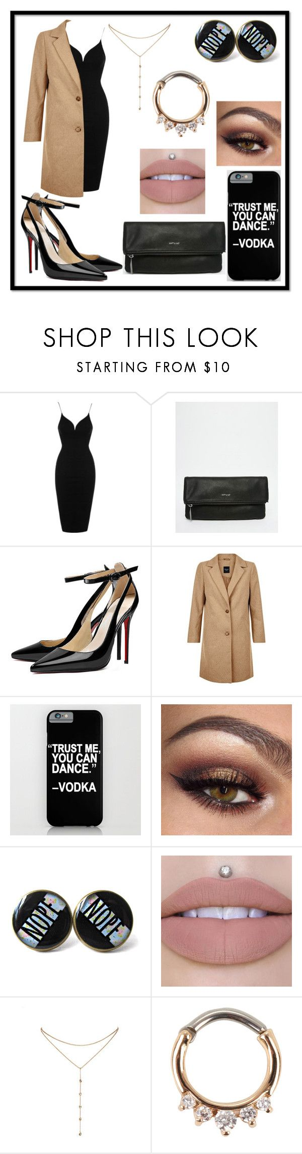 """Untitled #226"" by queen-beanie ❤ liked on Polyvore featuring Rare London, Matt & Nat, New Look and GUESS by Marciano"