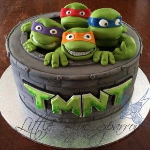 Ninja Turtle Cake Topper Party City