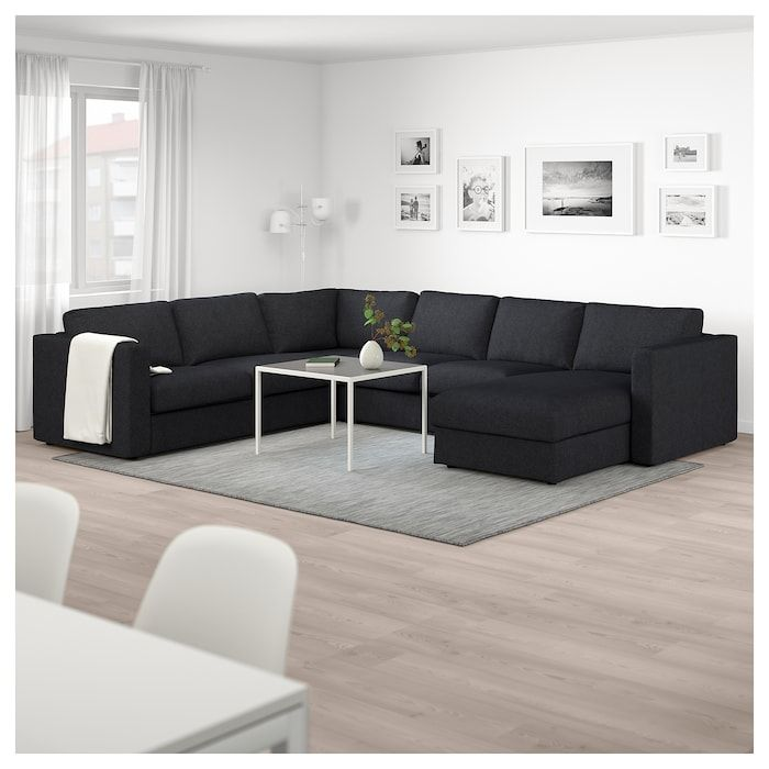 Ikea Us Furniture And Home Furnishings Black Couch Living Room Black Sectional Living Room Black Living Room