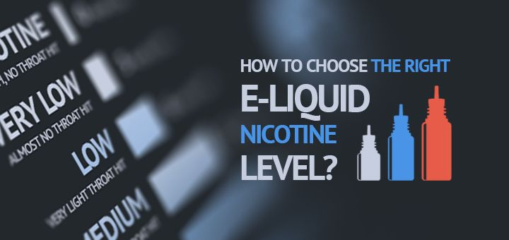 How to choose e-liquid nicotine level? That's a question many smokers ask when switching to vaping. Follow our tips and find out the right level for you!