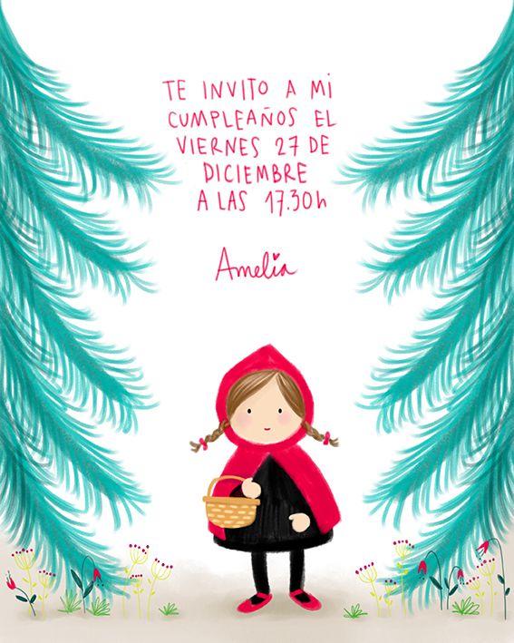 Cumpleaños Amelia 3 años / Invitación