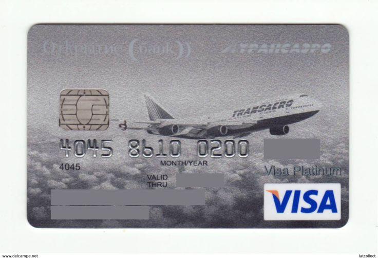 Bank Otkritie RUSSIA AVIO TRANSAERO VISA PLATINUM EXPIRED
