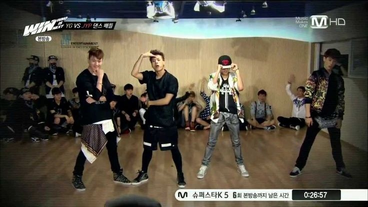 WIN ღ YG vs JYP Dance Battle (JYP Trainee Dance Team) #GOT7 The reason why Got7 will always dominate at dancing