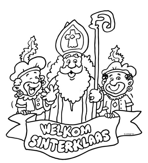 sinterklaas coloring pages - photo#25