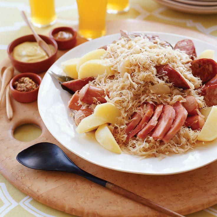 Les 25 meilleures id es concernant choucroute alsacienne - Cuisiner choucroute cuite ...