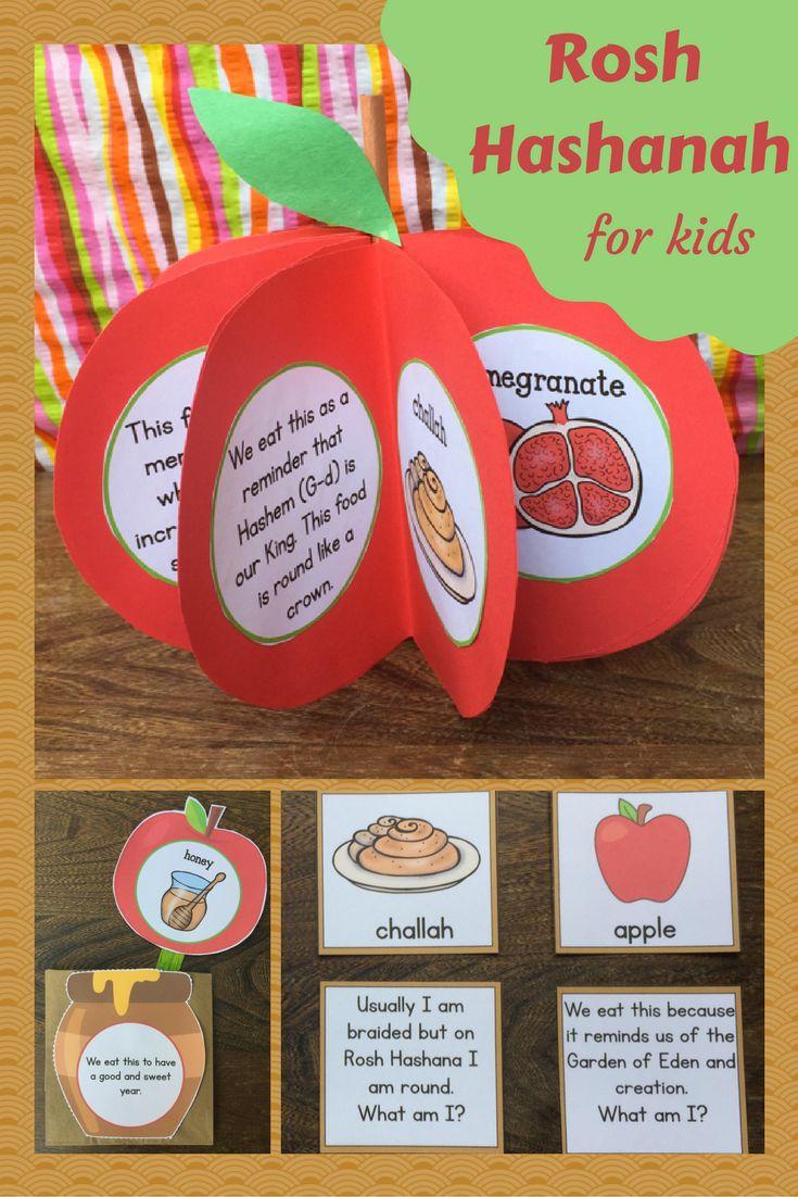 Rosh Hashanah for kids! Rosh Hashanah games and more!