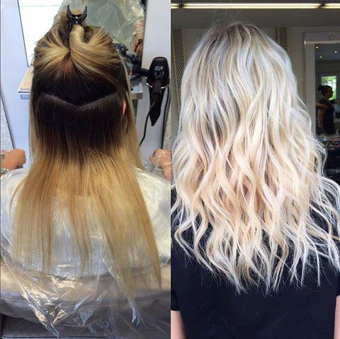 Plantinblondes, aber trotzdem gesundes Haar? Olaplex macht's möglich! Alennn Mujagic verwendete Olaplex um eine gesunde Blondierung zu ermöglichen. Aber Achtung: Wie schnell und ob solch eine Verwandlung möglich ist, ist abhängig vom Zustand des Haares vor der Behandlung!