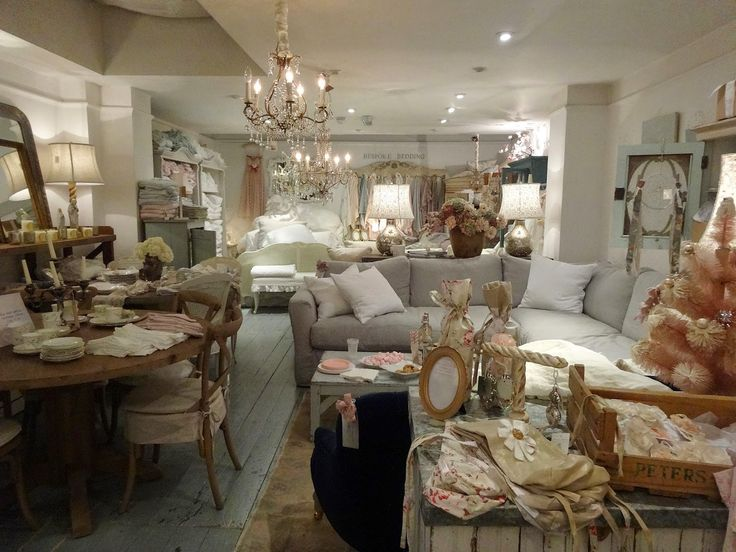 Inside a Shabby Chic store