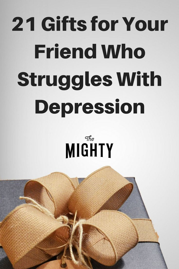 21 Gifts for Your Friend Who Struggles With Depres…