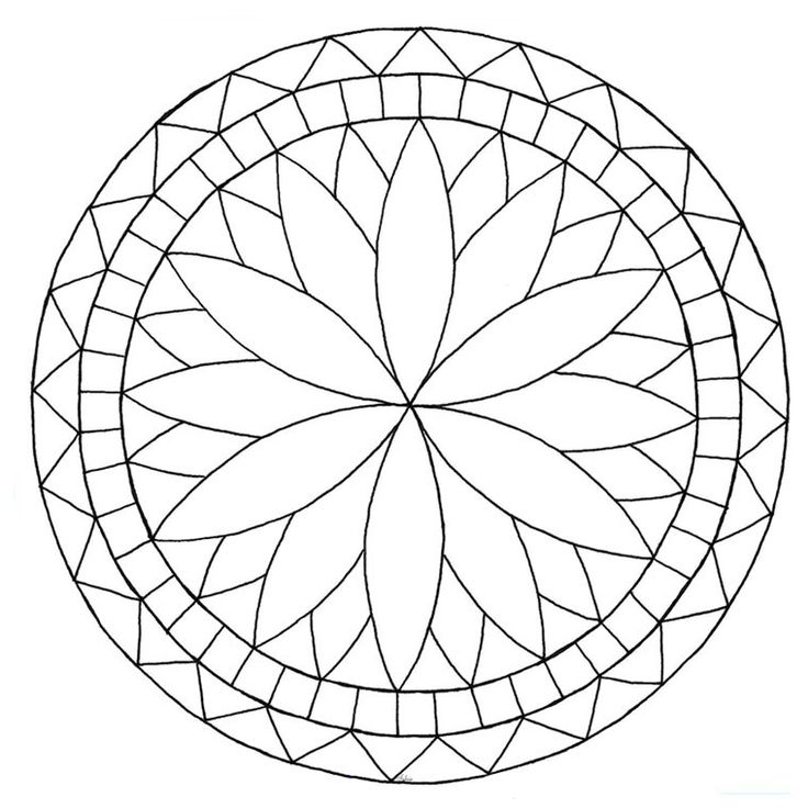 Les 28 Meilleures Images Du Tableau Mandalas Sur Pinterest