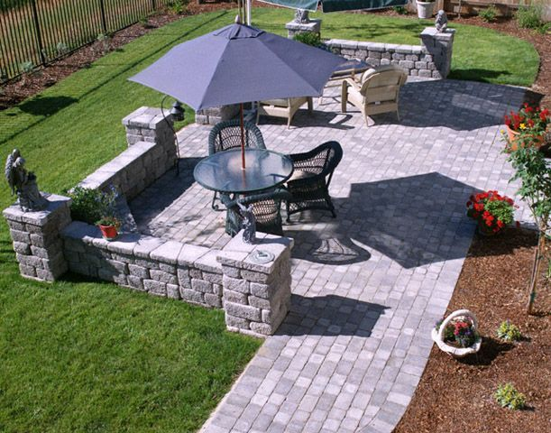Landscape Patio Ideas | How To Select The Types Of Patio Materials?