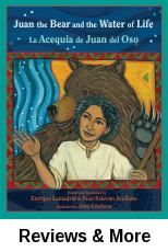 La acequia de Juan del oso (Juan the bear and the water of life). Retold and translated by Enrique R. Lamadrid & Juan Estevan Arellano; illust. by Amy Córdova.│A retelling of a Mexican folk tale. Although ostracized by villagers, three friends with magic abilities, including Juan del Oso whose father was a bear, create an irrigation system for New Mexico's Mora Valley. Bilingual.