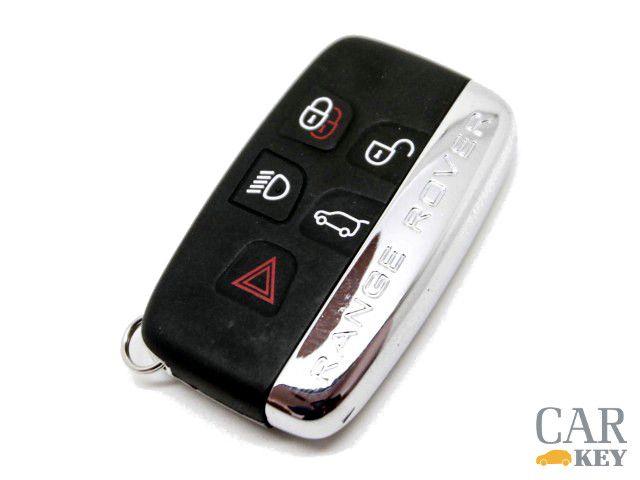 Range Rover car key.  Key for: Range Rover Evoque Range Rover Sport 2010- Range Rover Vogue 2010-  Buy it from CarKey www.carkey.se