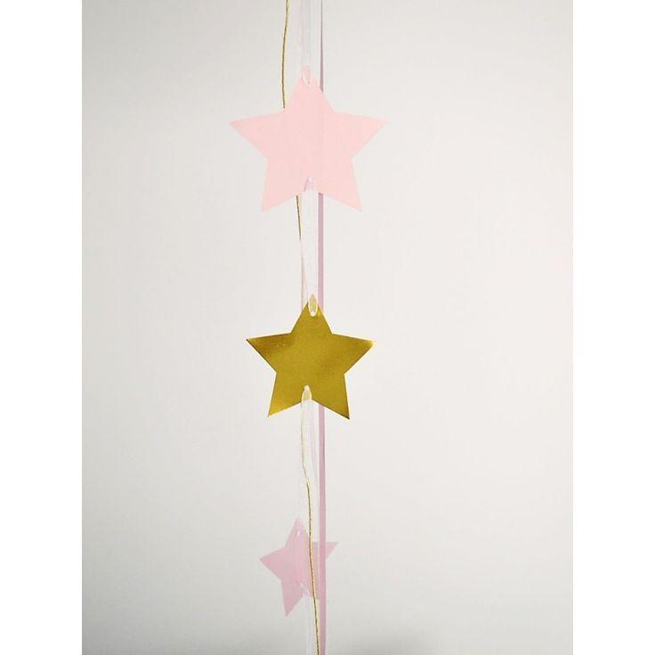 1 Globo sorpresa confeti y estrellas rosa y dorado
