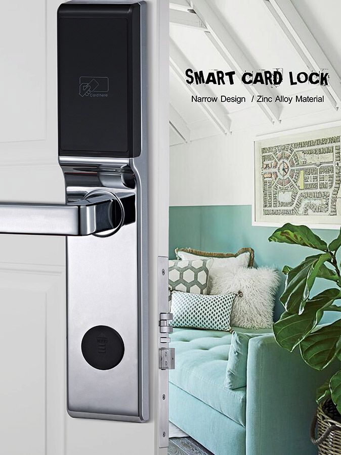 Avent Security C500 hotel door lock system with zinc alloy