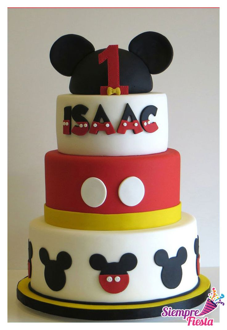 17 mejores ideas sobre Pastel De Mickey Mouse en Pinterest ...