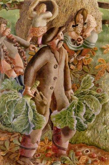 Chestnuts - stanley spencer