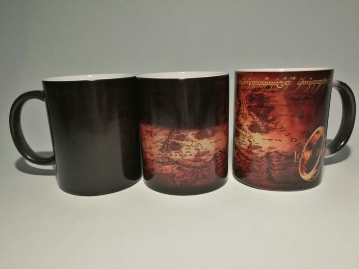 [FREE SHIPPING] Refreshing and Cool Color Changing, Coffee-Tee LOTR Mug